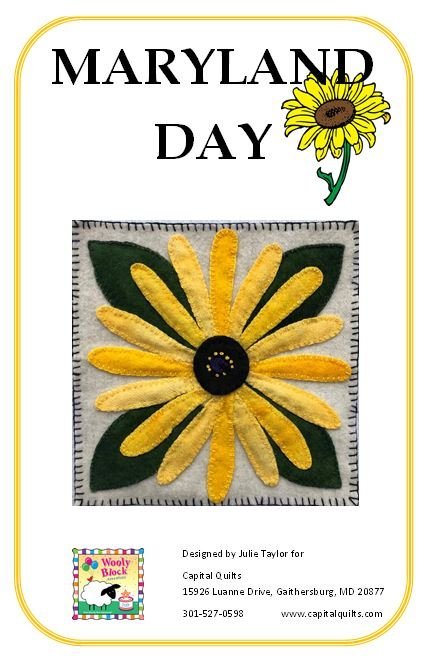 PT- Maryland Day  Wooly Block Adventure 2019