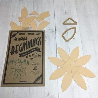 N- Mayflower Brimfield Beginnings Papers/Acrylics/Pattern