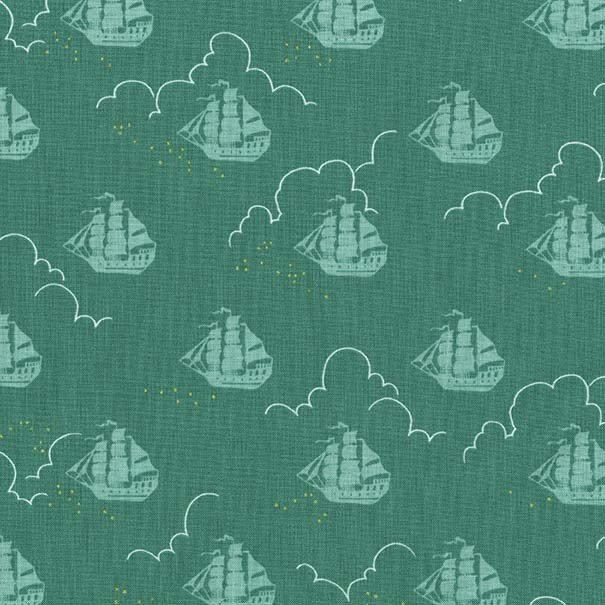 MM- Peter Pan Jolly Roger Green