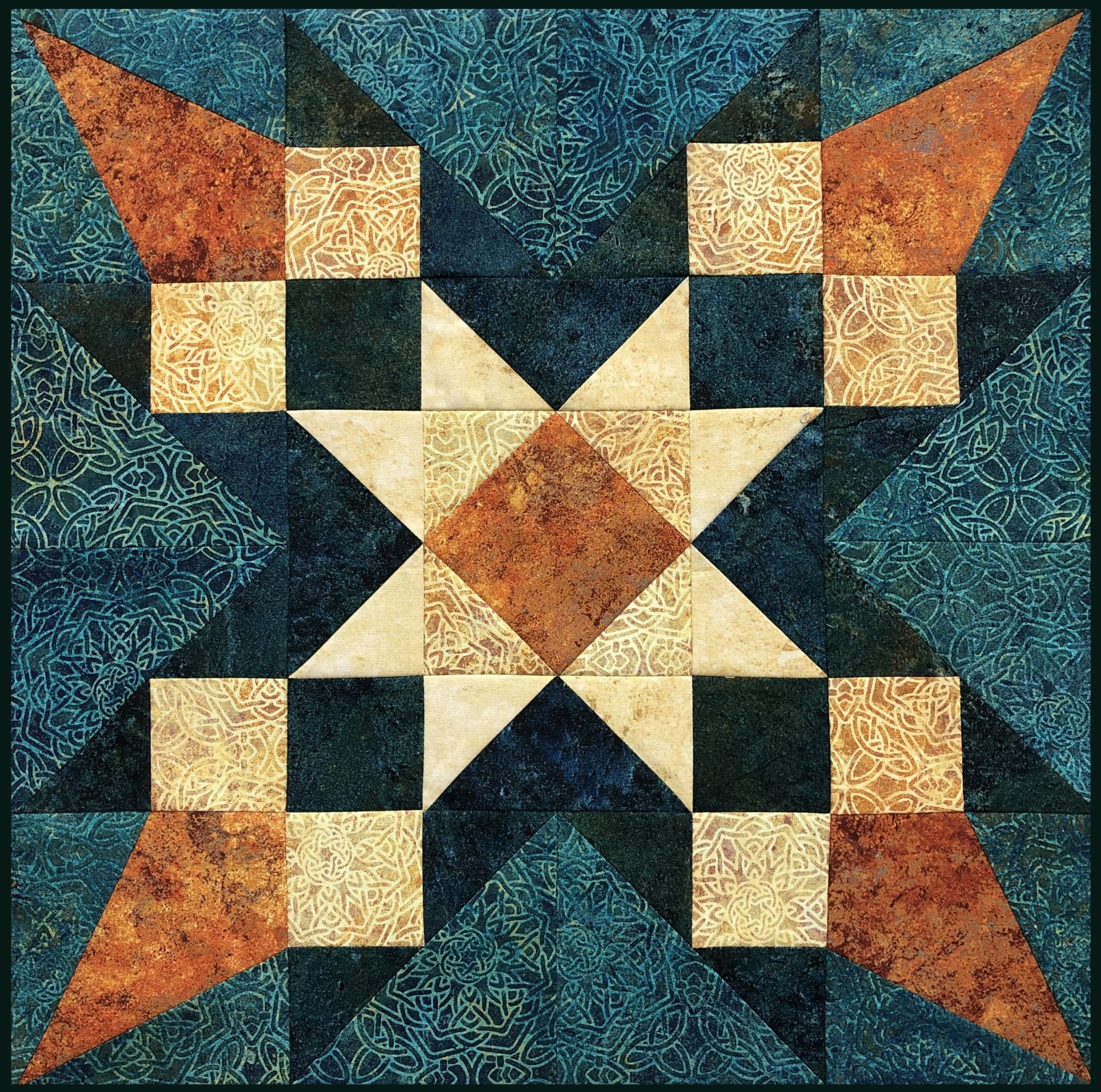 KIT- Merlin's Star, a Stonehenge Solstice Block Party Kit