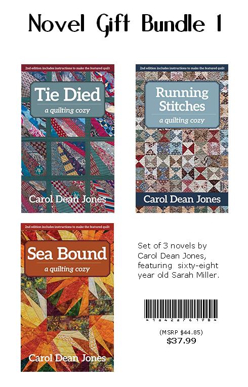 Set of 3 Novels (Tie Died, Running Stitches, Sea Bound)