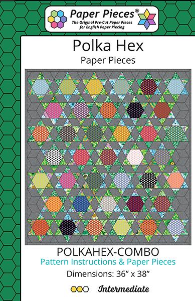PT- Polka Hex Pattern & Paper Pieces