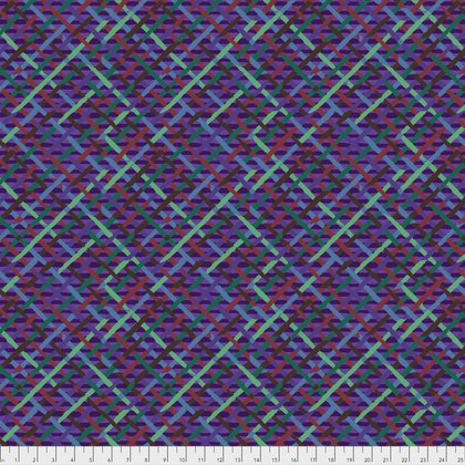 FREES- Mad Plaid in Purple by Kaffe Fassett