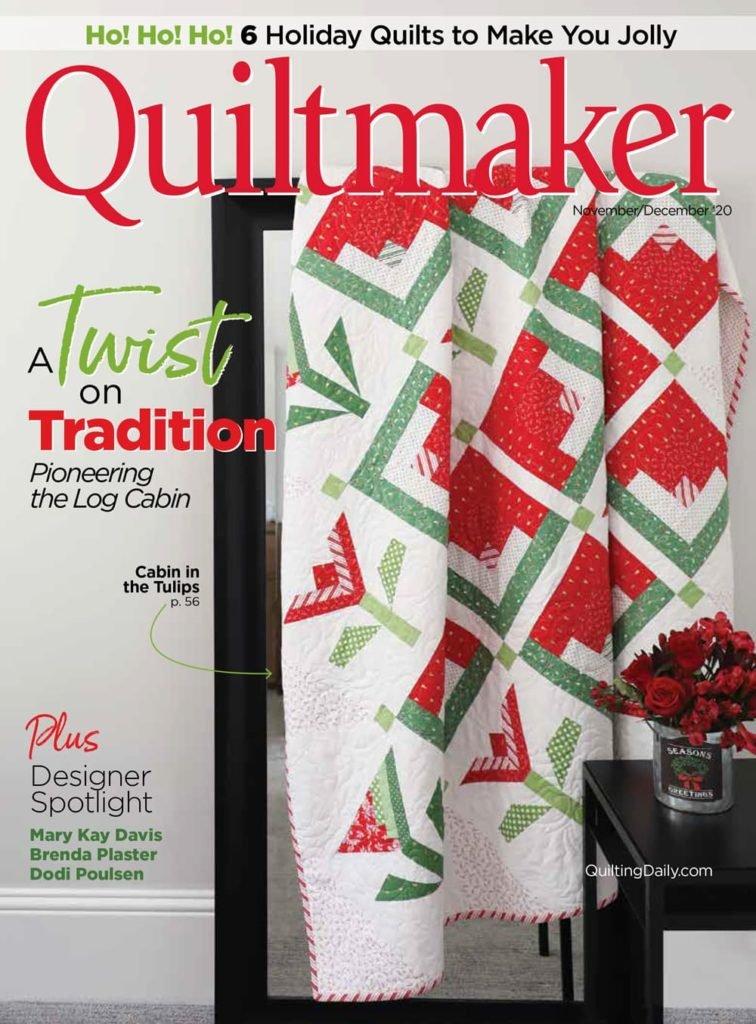 MZ- Quiltmaker Magazine Nov/Dec 2020