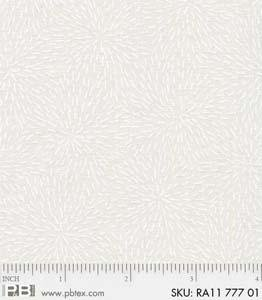 PB- Ramblings 11 Starburst 777 01 White-on-Ecru
