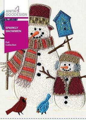 AG- Sparkly Snowmen