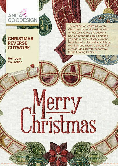 AG- Christmas Reverse Cutwork