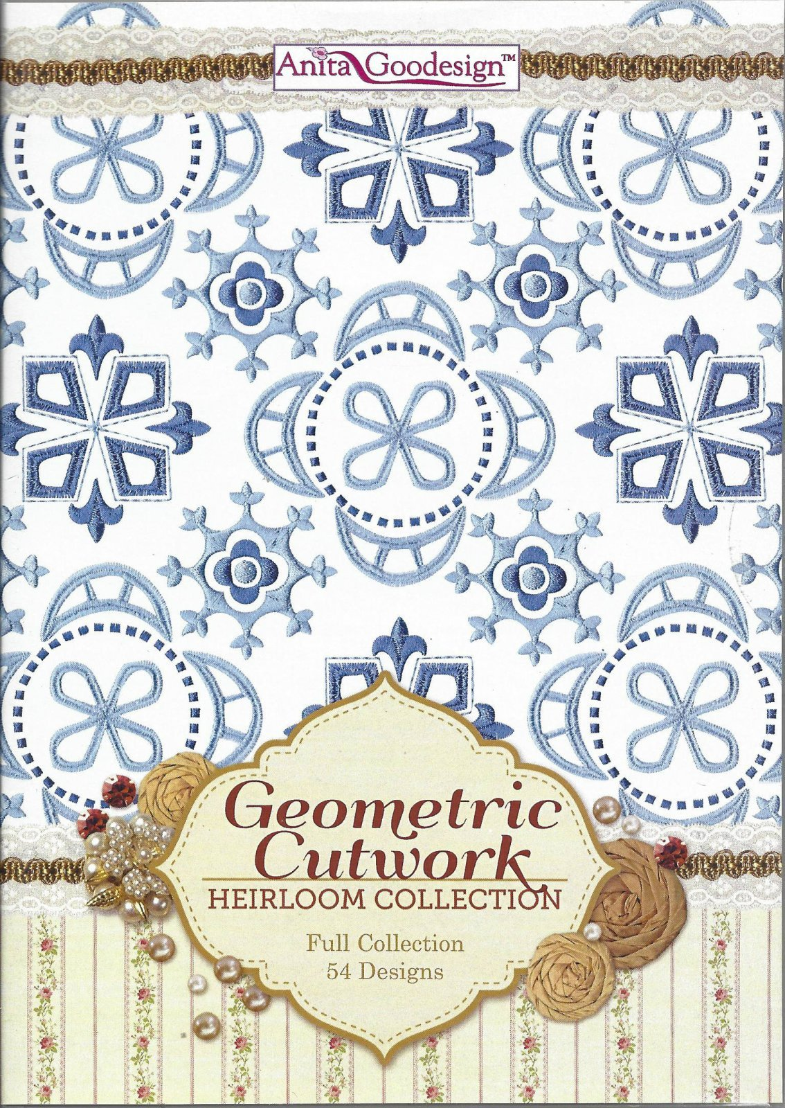AG- Geometric Cutwork