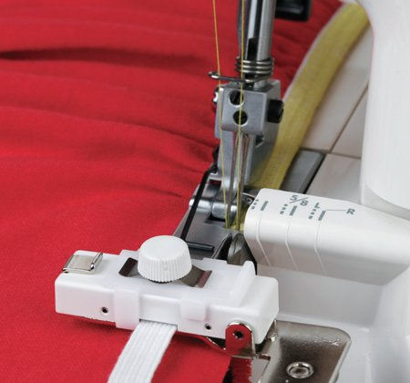 JAN- Elastic Gathering Attachment for Serger