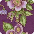 KAUF- Avery Hill Lavender Loose Floral on Purple