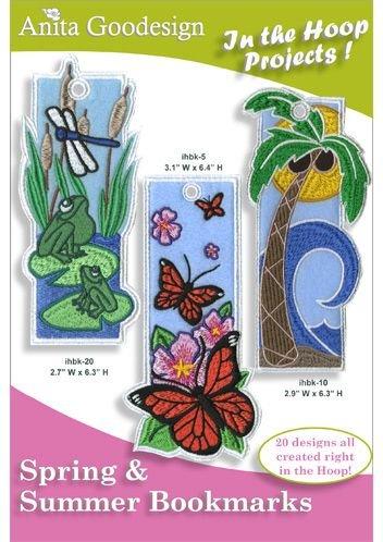 AG- Spring Summer Bookmarks
