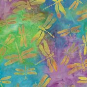 IB- Rayon Batik Sunbeam Dragonfly