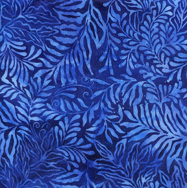 IB- Rayon Batik Twilight Blue
