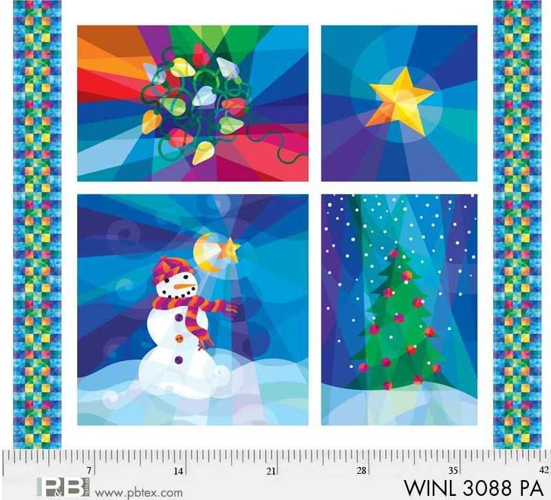 PANEL- Winter Lights Holiday Lights