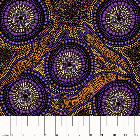 MS- Winter Spirits Purple