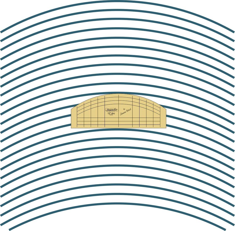 ACCESS- Westalee 12 Arc Template High Shank