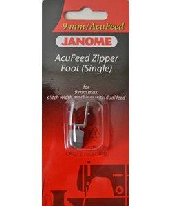AcuFeed Zipper Foot Single
