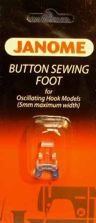 Button Sewing Foot for Oscillating Hook Models 5mm