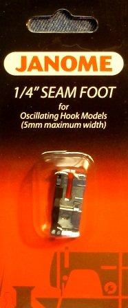 1/4 Seam Foot 5mm for Oscillating Hook (Front Load) Models