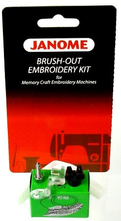 Brush-Out Embroidery Kit for Memory Craft Embroidery Machines