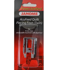Acufeed 1/4 Quilt Piecing Ft Twin - Use with MC15000 MC12000 MC8900 MC8200