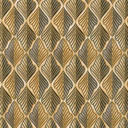 Robert Kaufman Lavish 14870-184 Charcoal