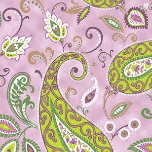 QT  Devon 24184-L Paisley Pink