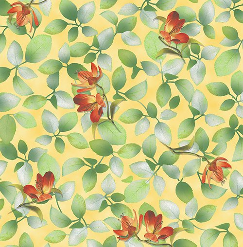 Belle Flower & Leaf 26419-S Sunlight