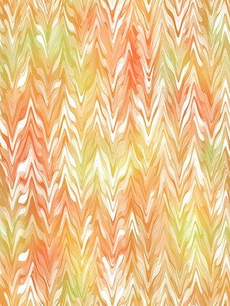 Belle Watercolor Chevron 26420-OS Orange/Sunlight