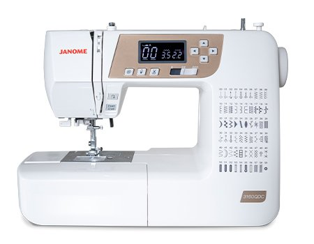 Janome 3160QDC-T Gold Computerized Sewing Machine