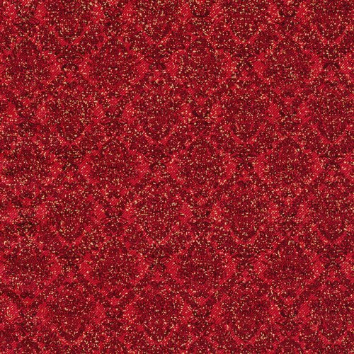 Paintbrush Studio Peace On Earth Damask Twill 120-10452 Red