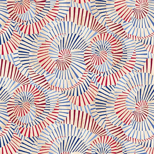 Land of the Free Swirls 9514-41 Tan