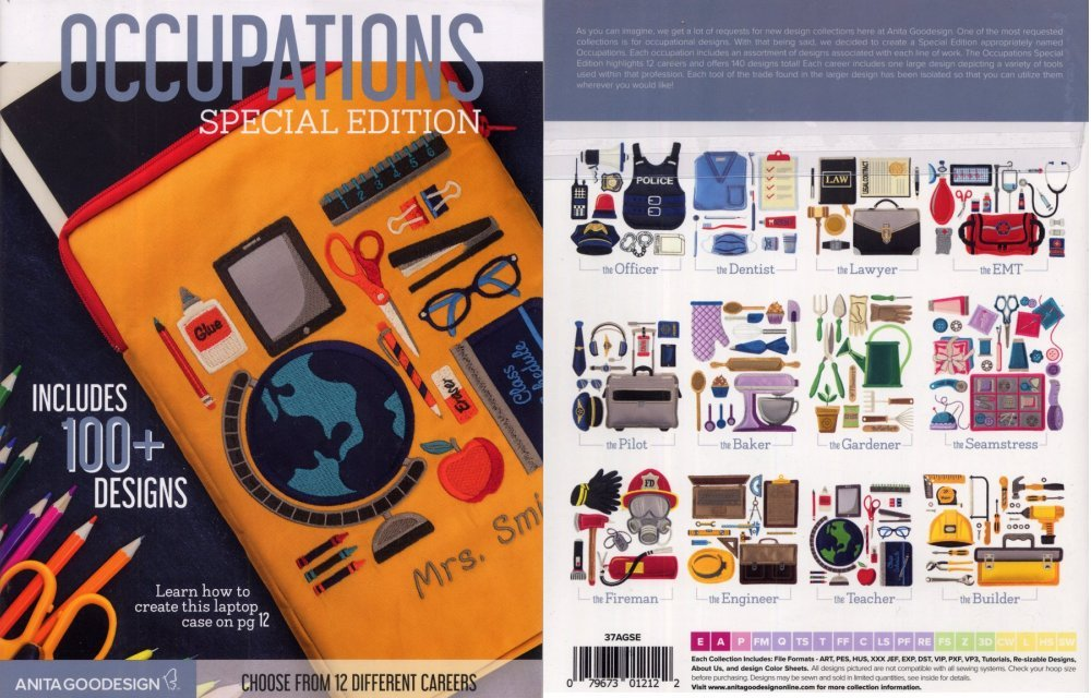 Anita Goodesign - Occupations Special Edition