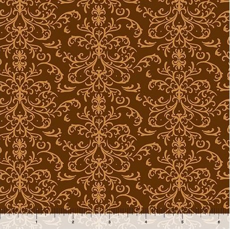 QT A Golden Holiday - Filigree 25960-A Brown