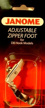 Adjustable Zipper Foot for DB Hook Models -Use with: 1600P 1600P-DB 1600P-DBX 1600P-QC
