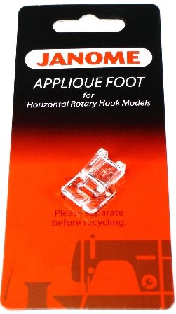 Applique Foot for Horizontal Rotary Hook (Top Load) Models