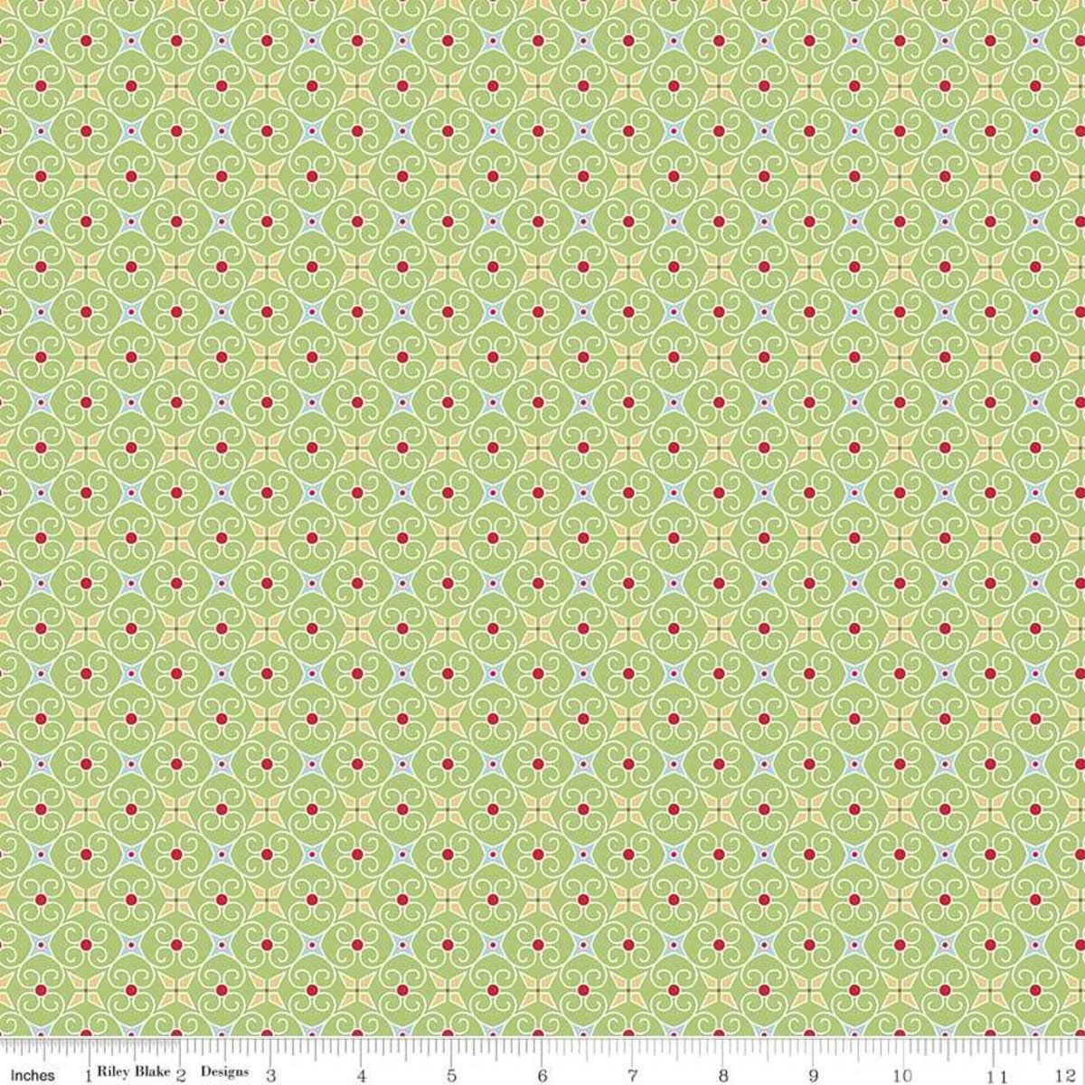 Cozy Christmas Wrapping Paper C5367-GREEN