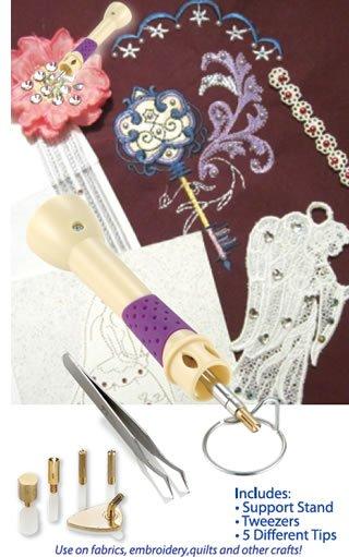 Crystal Embellisher & Mini Iron Set