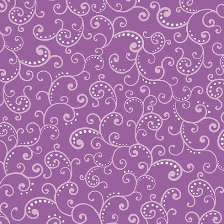 QT Devon Swirl 24187-V Grape