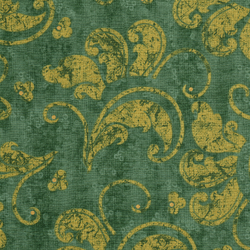 French Twist Green Flourish 5731 by Lonni Rossi