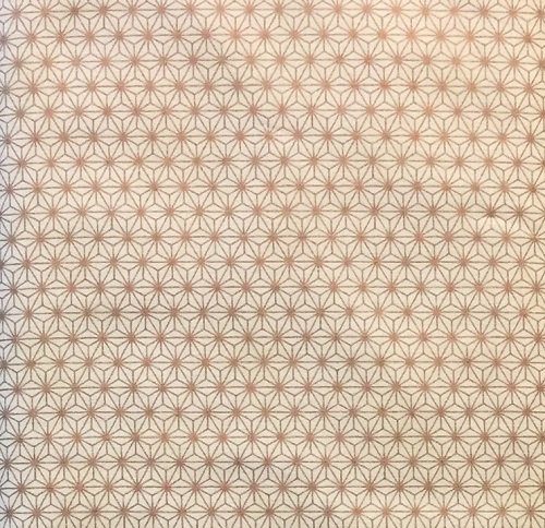 Stof Glimmer Deco Stars 4592-110 Cream