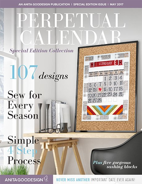 Anita Goodesign - Perpetual Calendar Special Edition Collection