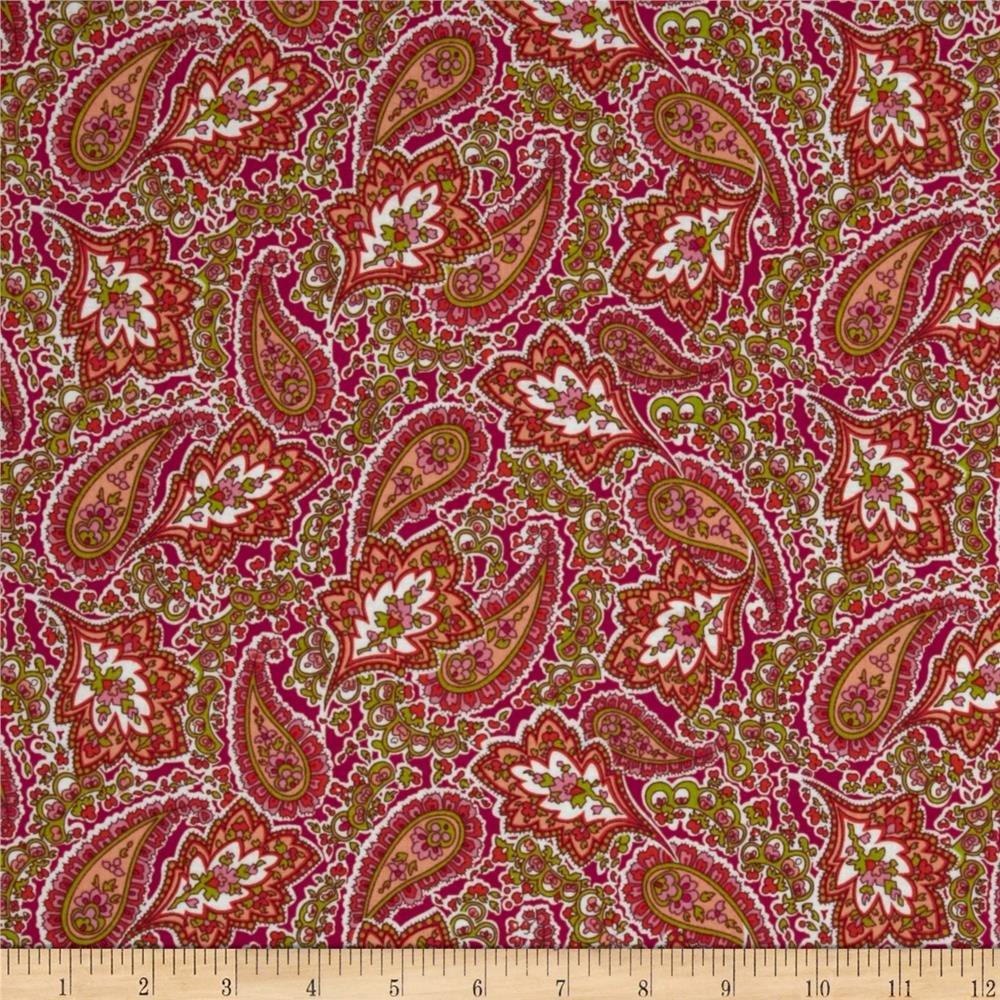 Adele Paisley 22987-P Pink Multi