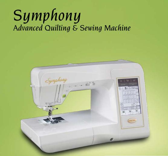 Symphony Computerized Sewing Machine