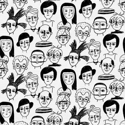 Cotton Prints PBS Friends & Faces