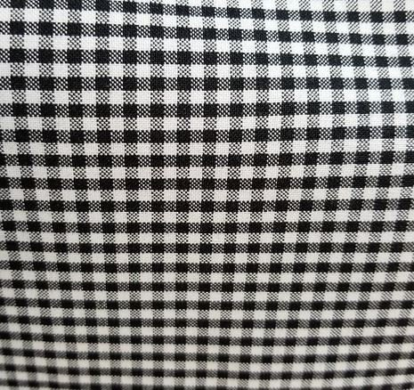 Cotton/Polyester Fabric 60 Gingham