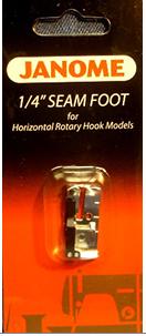 Janome Foot 1/4 Seam TL