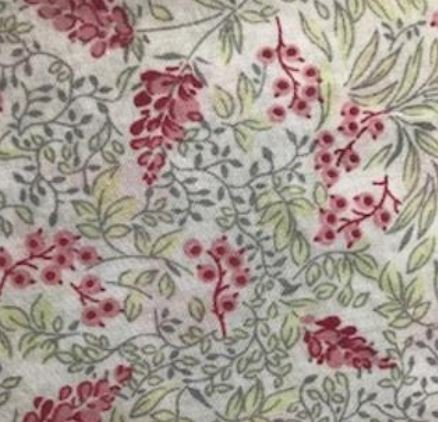 Cotton Fabric 60 Lawn Pink Floral