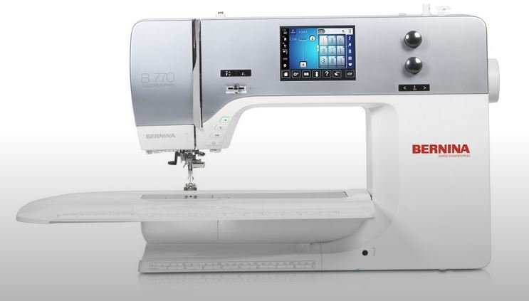 Bernina 770 QE  (BSR Included) - Machine only