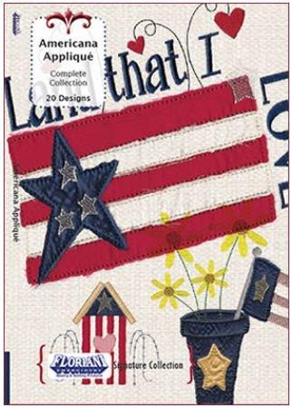 Design Pack Floriani Americana Applique Signature Set